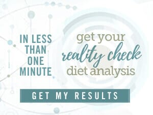 take the reality check diet analysis