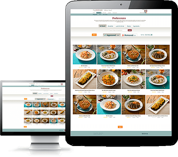 myBistroMD.com Screenshot