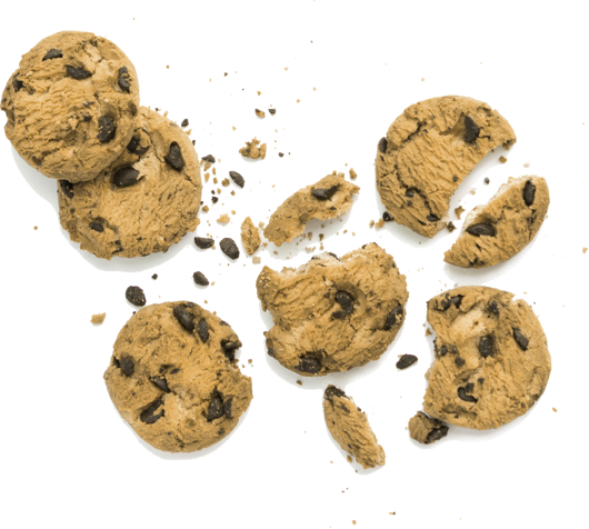 background image of cookies