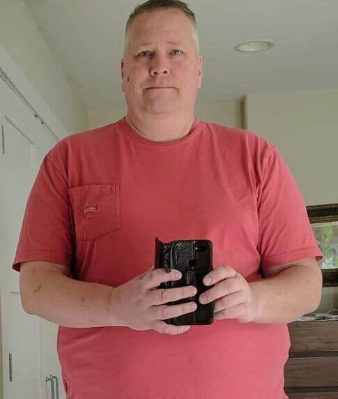 Jeff's before photo