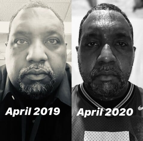 Ashley from April 2019 and April 2020