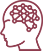 icon showing a head and brain