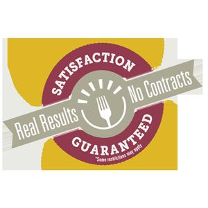 bistromMD guarantee logo