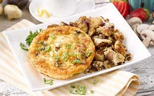 caramelized-mushroom-and-onion-frittata
