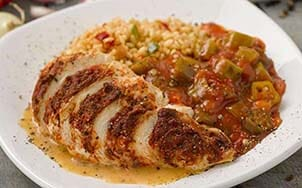 blackened-chicken-with-creamy-smoked-paprika-sauce