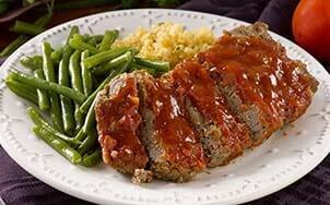 meatloaf-with-honey-bourbon-glaze