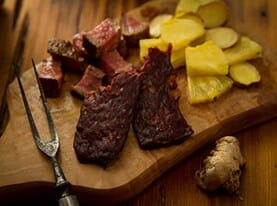 Teriyaki Beef Jerky with Pineapple