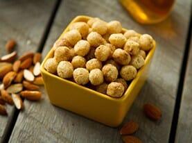Crunchy Almond Puffs
