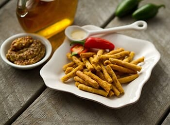 Kickin' Honey Mustard Pretzels