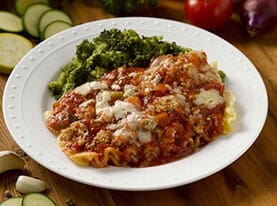 Lasagna with Garden Marinara