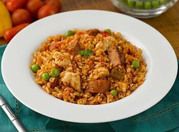 Chicken Paella with Andouille Sausage