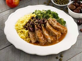 Pork Tenderloin with Olive Tapenade