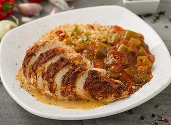 Blackened Chicken with Creamy Smoked Paprika Sauce