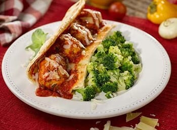 Chicken Meatball Marinara Wrap Kit