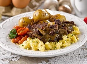 Steak and Egg Scramble