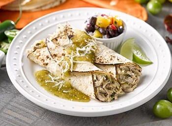 Pork Enchiladas with Salsa Verde