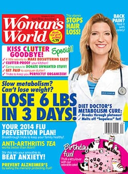 Woman's World - Dr. Cederquist Featured on Cover
